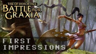 Battle for Graxia Gameplay | First Impressions HD