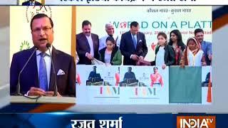 India TV Editor-in-chief Rajat Sharma calls for making 'Skill India' a big success - INDIATV