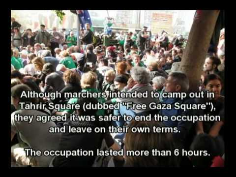 Order out of Chaos - A chronicle of the Gaza Freedom March 2009 6/7