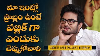 I will also do movies with Pawan Kalyan and Ram Charan: Sudheer Babu Interview | Sammohanam - IGTELUGU
