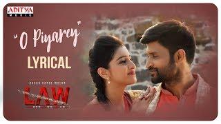 O Piyare Lyrical || L A W (LOVE AND WAR) Songs || Kamal Kamaraju, Mouryani, Satya Kashyap, - ADITYAMUSIC