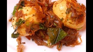 Egg Roast - Kerala Recipe ..