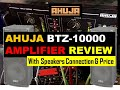 Ahuja Btz-10000 Amplifier Review With Speakers Connection & Price