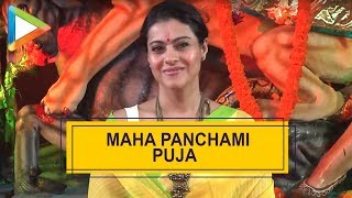 Kajol at the Maha Panchnami  Puja & Murti Sthapna - HUNGAMA