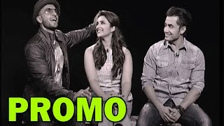 Parineeti Chopra, Ranveer Singh and Ali Zafar's CANDID moments with zoOm! - PROMO