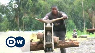 Meet the Chukudu: Congo's home-made scooter | Africa on the move - DEUTSCHEWELLEENGLISH