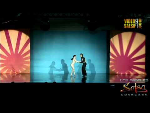 Grizzli & Alien from Venezuela and LA at the 13th Los Angeles Salsa congress 2011