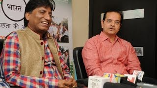 "Comedy To Singing - Raju Srivastav Turns Singer Launches ""Mera Swachh Bharat"" Song - THECINECURRY"