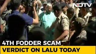 Lalu Yadav Convicted In Fourth Fodder Scam Case, Jagannath Mishra Acquitted - NDTV