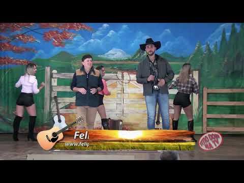 Felipe e Facão  no programa Titio Doni na TV cantando meu grito de amor