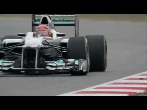F1 2012 - Mercedes AMG - Michael Schumacher & the start in Formula 1