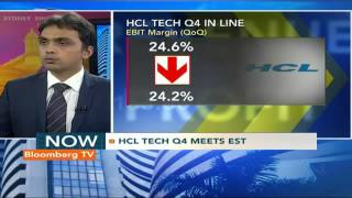 Earnings Edge: HCL Tech Q4 Meets Street Est - BLOOMBERGUTV