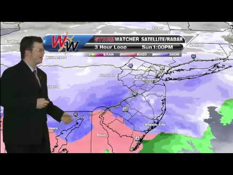 Sunday, March 1st Afternoon Forecast