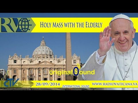 Holy Mass with the Elderly (2014.09.28)