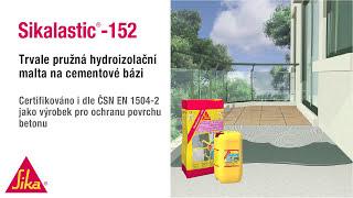 Hydroizolační tekutá lepenka - Sikalastic-152