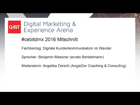 #cebitdmx: Digitale Kundenkommunikation im Wandel