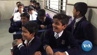 Delhi's Public Schools Put Happiness at Top of Curriculum - VOAVIDEO