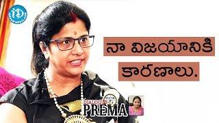 Vijayalakshmi About Her Success Formula || Celebration Of Life - IDREAMMOVIES