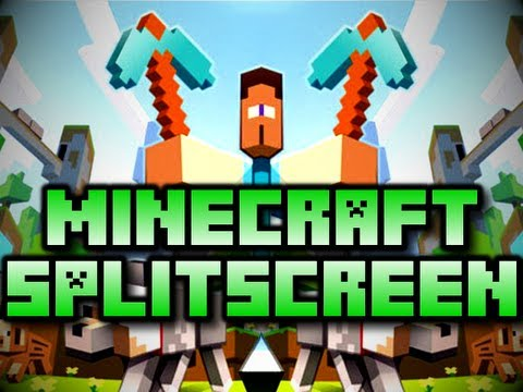 Minecraft Splitscreen w Chim & his Brother Xbox 360