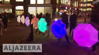 London Lumiere festival: City in different light - ALJAZEERAENGLISH