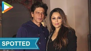Zero star Shah Rukh Khan visits restaurant designed by wife Gauri Khan - HUNGAMA