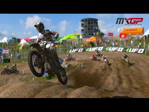 MXGP - The Official Motocross Videogame PS4 Gameplay (HD) 1080p