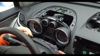 Opel Mokka- как разобрать панель приборов
