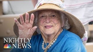 Barbara Bush Remembered By Family And Former Aides | NBC Nightly News - NBCNEWS