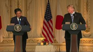 Trump, Abe Express Hope for Successful U.S.-North Korean Summit - VOAVIDEO