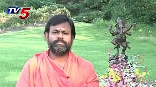 Ganesh Dharshanam | Paripoornananda Vinayaka Pravachanalu | 01.09.2014 : TV5 News - TV5NEWSCHANNEL