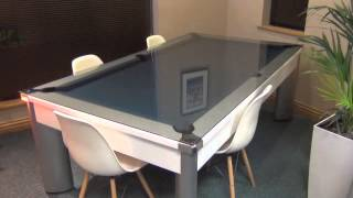 Fusion Pool Dining Table   YouTube
