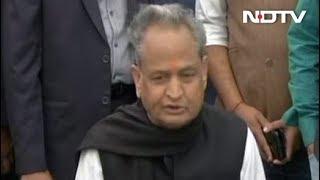रुझानों में कांग्रेस को मिली बढ़त के बाद अशोक गहलोत ने मोदी सरकार पर बोला जमकर हमला - NDTVINDIA