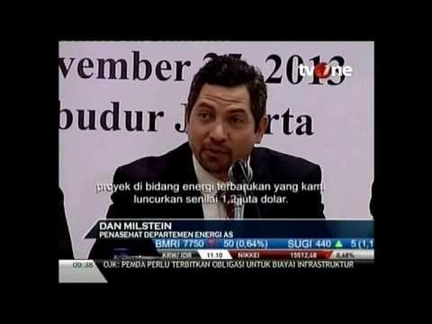 Investasi Energi Terbarukan AS di Indonesia (November 26, 2013) - Tv One