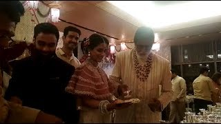 अमिताभ बच्चन का ये अंदाज :अमिताभ बच्चन ने खुद शादी में मेहमानों को खाना सर्व किया देखे वीडियो