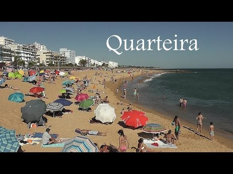 ALGARVE: Quarteira beachfront (Portugal) HD