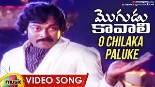 CHIRANJEEVI Hit Songs | O Chilaka Paluke Video Song | Mogudu Kavali Movie Songs | Mango Music - MANGOMUSIC