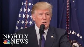 Donald Trump Blames Democrats For Looming Government Shutdown | NBC Nightly News - NBCNEWS