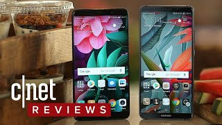 Huawei Mate 10 and Mate 10 Pro phones (first-look) - CNETTV