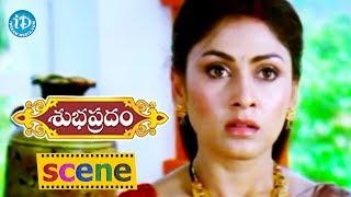 Subhapradam Movie Scenes - Manjari And Naresh Comes To Know About Sarath Babu's Grand Daughter - IDREAMMOVIES
