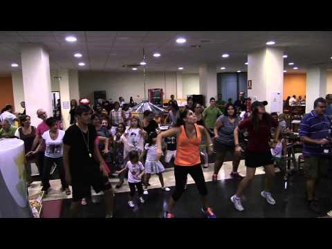 Flashmob en el Hotel Playas de Guardamar. Fiesta Familia 2014