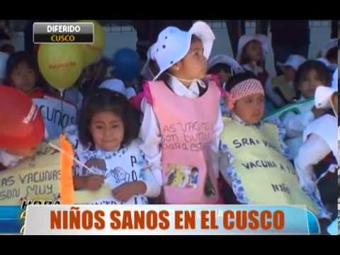 Nios sanos en el Cusco