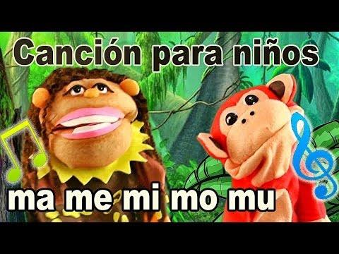 Canción ma me mi mo mu - El Mono Sílabo - Videos Infantiles - Educación para Niños #