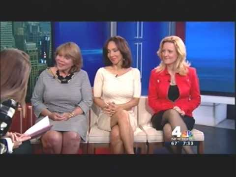 Lynne White 6/6/12 LEGS! Power Panel, New York Nightly News