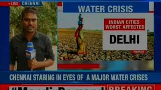 Chennai Water Crisis: City to face 2nd water crisis within 3 years - NEWSXLIVE
