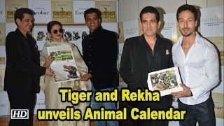 Actors Tiger Shroff , Rekha unveils Animal Calendar - IANSINDIA