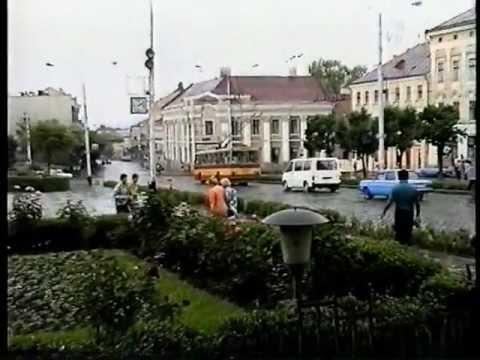 Черновцы, из прошлого в настоящее 1995 год