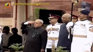Ram Nath Kovind Started With Pranab Mukherjee To Take Oath | Kovind Swearing In Ceremony | MangoNews - MANGONEWS