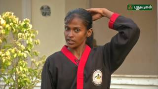 Martial Arts for Self Defence | Morning Cafe 23-06-2017  PuthuYugam TV Show