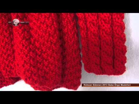 Rüksan Sökmen 2013 Bebe Örgü Modelleri - Rüksan Sökmen 2013 Baby Knitting Patterns
