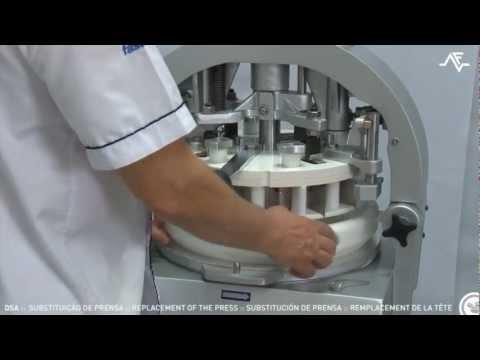 Divisoras boleadoras de masas / Sustitución de prensa: panadería y pastelería industriales